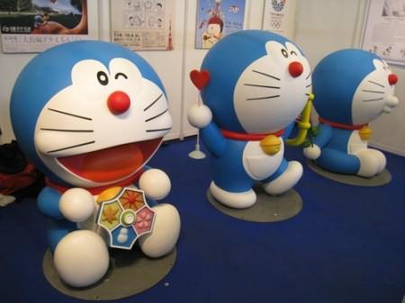 【Japan Expoレポート】Japan Expoだよドラえもん!藤子プロブースに等身大ドラえもん出現3