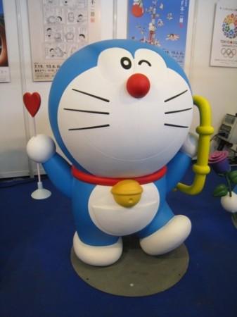 【Japan Expoレポート】Japan Expoだよドラえもん!藤子プロブースに等身大ドラえもん出現5