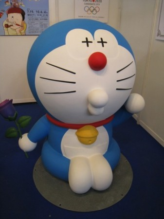 【Japan Expoレポート】Japan Expoだよドラえもん!藤子プロブースに等身大ドラえもん出現6