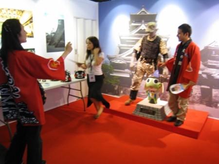 【Japan Expoレポート】ケロロ軍曹&くまモンの最強コラボ!大人気の熊本ブースをレポート9