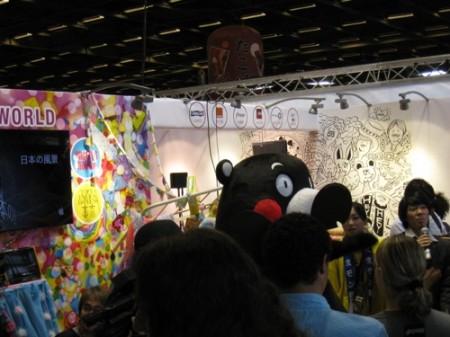 【Japan Expoレポート】ケロロ軍曹&くまモンの最強コラボ!大人気の熊本ブースをレポート3