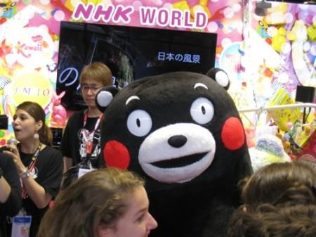 【Japan Expoレポート】ケロロ軍曹&くまモンの最強コラボ!大人気の熊本ブースをレポート2