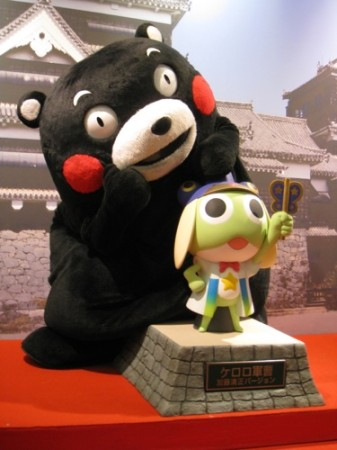【Japan Expoレポート】ケロロ軍曹&くまモンの最強コラボ!大人気の熊本ブースをレポート12