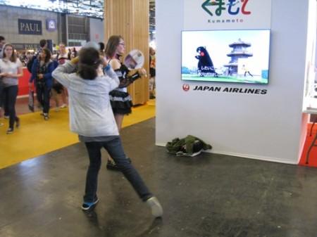【Japan Expoレポート】ケロロ軍曹&くまモンの最強コラボ!大人気の熊本ブースをレポート5