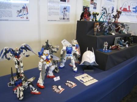 【Japan Expoレポート】フランスのガンダムファンってどんな感じ? 非営利活動団体「AEUG: Association pour l'essor de l'univers Gundam」(ガンダムの世界を世に広める会)のブースをレポート2