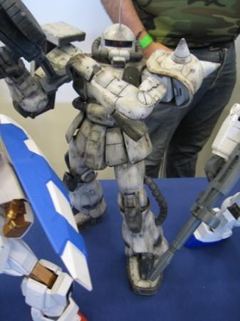 【Japan Expoレポート】フランスのガンダムファンってどんな感じ? 非営利活動団体「AEUG: Association pour l'essor de l'univers Gundam」(ガンダムの世界を世に広める会)のブースをレポート3