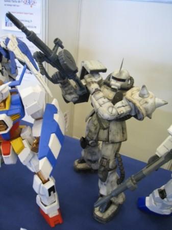 【Japan Expoレポート】フランスのガンダムファンってどんな感じ? 非営利活動団体「AEUG: Association pour l'essor de l'univers Gundam」(ガンダムの世界を世に広める会)のブースをレポート4