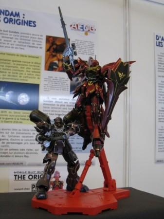 【Japan Expoレポート】フランスのガンダムファンってどんな感じ? 非営利活動団体「AEUG: Association pour l'essor de l'univers Gundam」(ガンダムの世界を世に広める会)のブースをレポート6