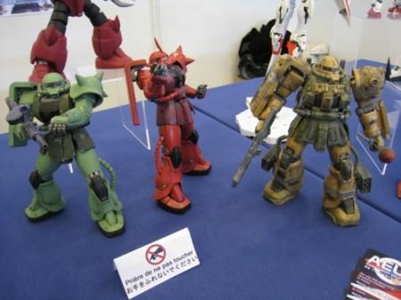【Japan Expoレポート】フランスのガンダムファンってどんな感じ? 非営利活動団体「AEUG: Association pour l'essor de l'univers Gundam」(ガンダムの世界を世に広める会)のブースをレポート10