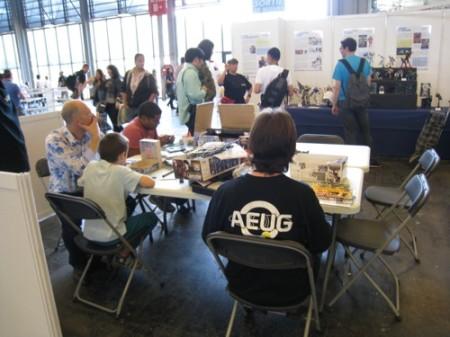 【Japan Expoレポート】フランスのガンダムファンってどんな感じ? 非営利活動団体「AEUG: Association pour l'essor de l'univers Gundam」(ガンダムの世界を世に広める会)のブースをレポート11