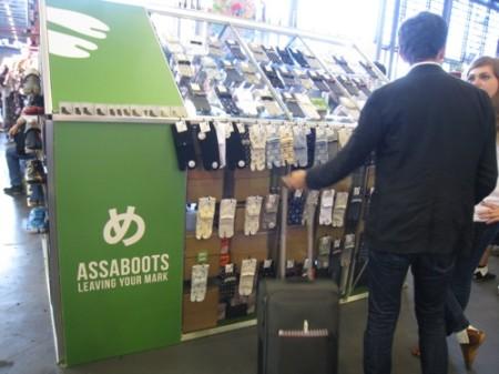 【Japan Expoレポート】コスプレアイテムから普段使いのファッションアイテムへ --- 足袋の魅力を伝えるおしゃれ地下足袋ブランド「ASSABOOTS」2