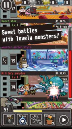 ガンホー、スマホ向けタワー育成ゲームアプリ「CrazyTower」を北米・欧州で提供開始2