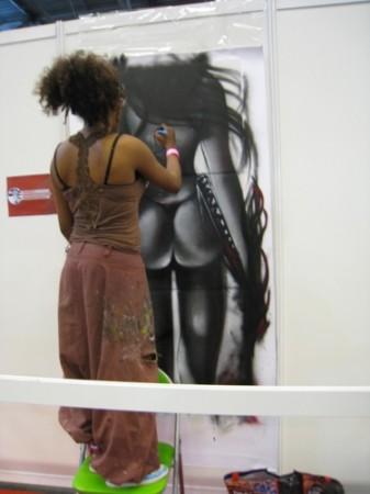 【Japan Expoレポート】21世紀のジャポニスム現象 フランス人アーティストの作品いろいろ28