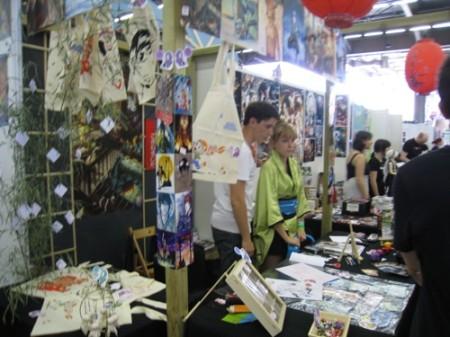 【Japan Expoレポート】21世紀のジャポニスム現象 フランス人アーティストの作品いろいろ5