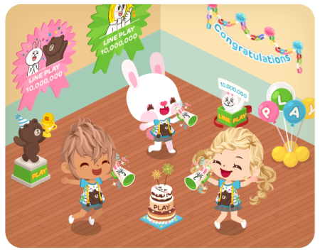 「LINE」の仮想空間アプリ「LINE Play」が1000万ユーザー突破!3