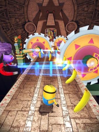 ゲームロフト、映画「怪盗グルー」シリーズのスマホ向け公式ゲームアプリ「怪盗グルーのミニオンラッシュ」をリリース3