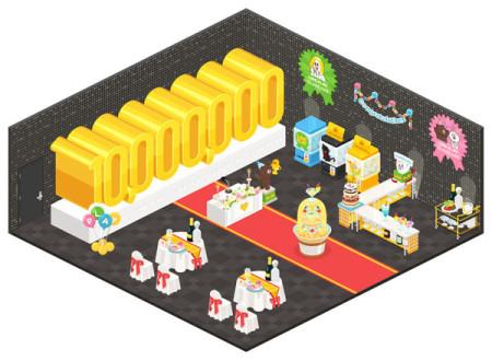 「LINE」の仮想空間アプリ「LINE Play」が1000万ユーザー突破!2