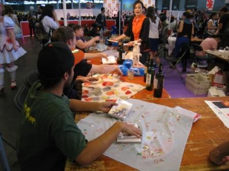 【Japan Expoレポート】武道、折り紙、風呂敷、茶道、水墨画etc...、ワークショップで日本文化を体験9