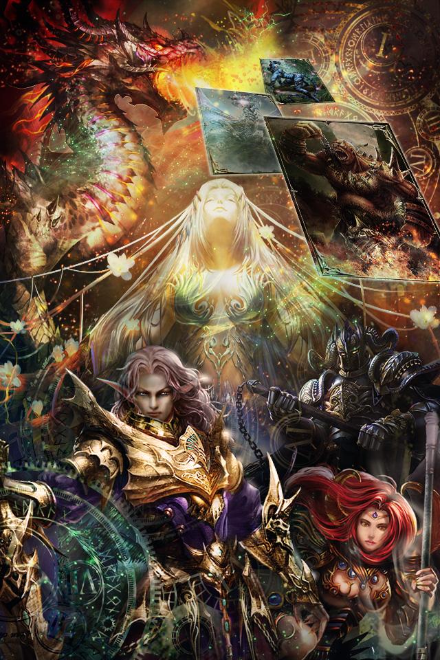 ドリコムのスマホ向けソーシャルカードバトル「神縛のレインオブドラゴン」、70万ダウンロード突破