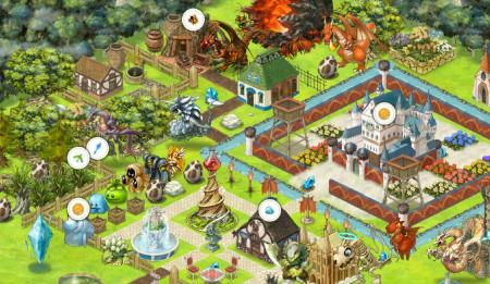 ポッピンゲームズジャパン、新作iOS向けシミュレーションゲーム「箱庭RPG ドラゴンフリック!!」の事前登録受付を開始2