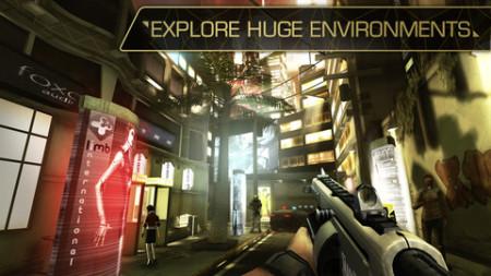 スクエニ、iOS向け「Deus Ex」シリーズ最新作「Deus Ex: The Fall」をリリース!3