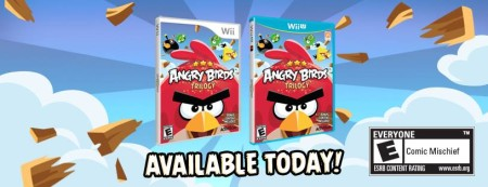 Angry Birdsのコンソール版「Angry Birds Trilogy」、Wii版も販売開始