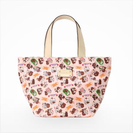 LINEとサマンサタバサがコラボ! ブラウン&コニーのバッグをLINEシークレットセールにて限定500個販売2