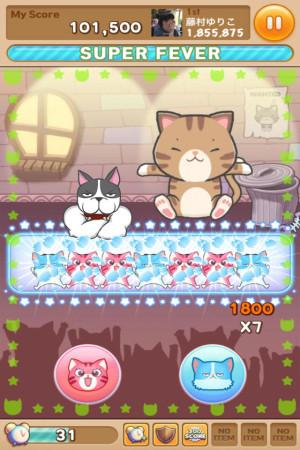 LINE GAME、猫を育てながら様々なミニゲームが楽しめる「LINE ぽんぽんぽん」をリリース4