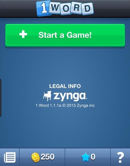 カナダのスマホ向けメッセージングアプリ「Kik Messenger」がゲームプラットフォーム化 第一弾タイトルはZyngaの「1 Word」1