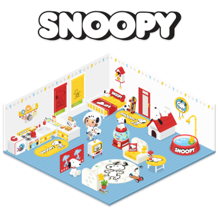 「LINE」のスマホ向け仮想空間アプリ「LINE Play」に「スヌーピー」の公式アバターが登場1