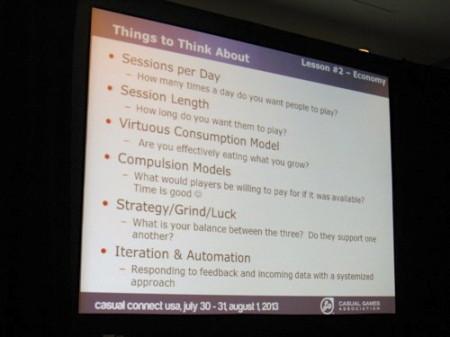 【Casual Connect USAレポート】Zynga流「基本プレイ無料のゲームをデザインする時に考える3つのこと」9
