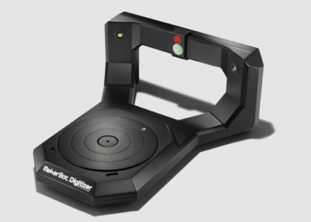 MakerBot、個人用3Dスキャナ「MakerBot Digitizer」を販売開始 日本でも購入可能
