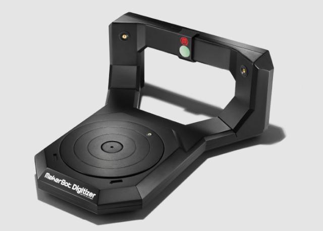 MakerBot、10月に個人用3Dスキャナをリリース 価格は1550ドル