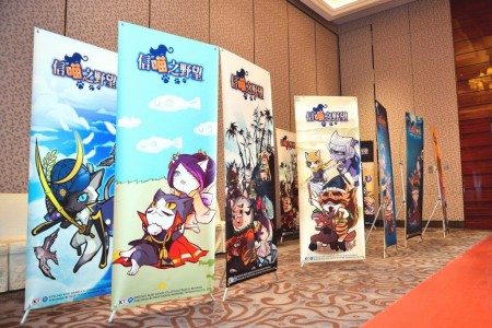 コーエーテクモゲームスと上海Blue Panda Technology、中国版「のぶニャがの野望」の正式サービスを8/29より開始2