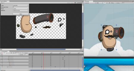 ゲーム開発エンジンのUnity、新たに2D向けゲーム開発とクラウドサービスをサポート2