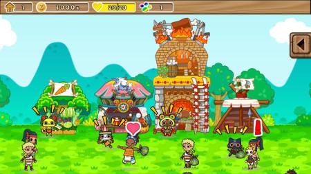 アイルーと一緒にお店を経営! カプコン、アイルーが主人公のiOS向けゲーム「モンハン商店 アイルーでバザール」をリリース3