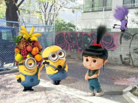 日本限定!LINE、カメラアプリ「LINE camera」にて映画「怪盗グルーのミニオン危機一発」のスタンプを期間限定配信3
