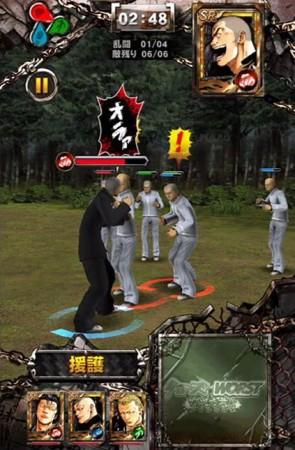 KONAMI、iOS向け3Dアクションゲーム「 クローズ×WORST~打威鳴舞斗(ダイナマイト)~ 」をリリース2