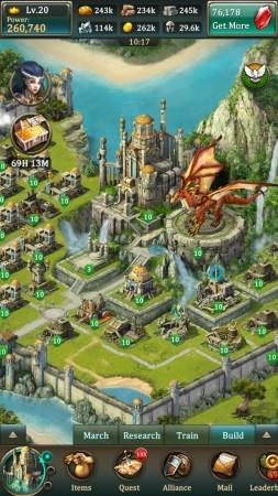 Kabamが日本語対応のスマホ向けゲームアプリ「ドラゴンズ オブ アトランティス:ドラゴンの継承者」をリリース2