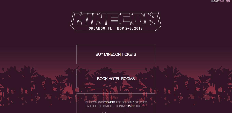 Mojang、「Minecraft」のオフラインイベント「MineCon 2013」を11月に開催決定
