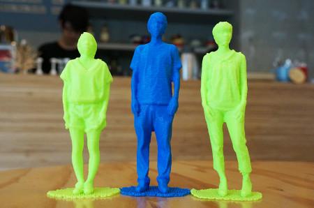 デジタルものづくりカフェ「FabCafe」、全身3Dスキャン&3Dプリンタ出力サービスを開始