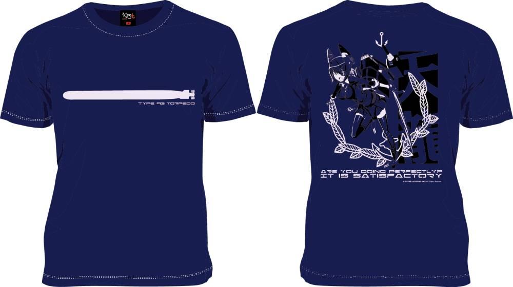 ニッポン放送のデザインTシャツブランド「193t」、戦艦擬人化シミュレーションゲーム「艦これ」のTシャツ3種をリリース1