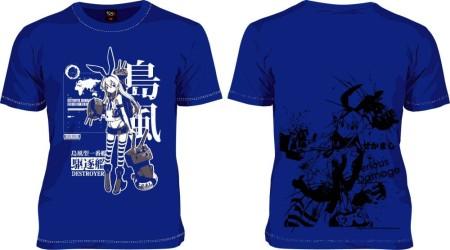 ニッポン放送のデザインTシャツブランド「193t」、戦艦擬人化シミュレーションゲーム「艦これ」のTシャツ3種をリリース2