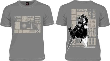 ニッポン放送のデザインTシャツブランド「193t」、戦艦擬人化シミュレーションゲーム「艦これ」のTシャツ3種をリリース3