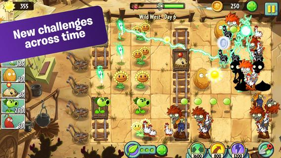 PopCap Gamesの大ヒットタワーディフェンスゲームの最新作「Plants Vs. Zombies 2」をリリース2