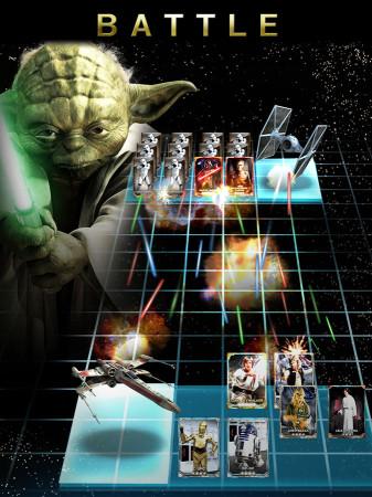 KONAMI、「スター・ウォーズ」の海外向けカードバトルゲーム「Star Wars: Force Collection」を9/4にリリース3