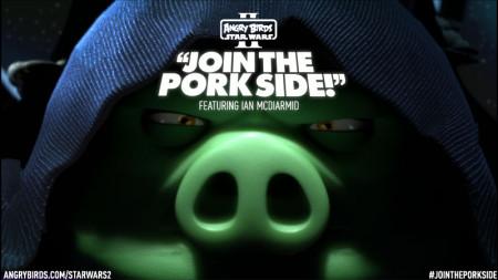 パルパティーン皇帝役のイアン・マクダーミド氏も登場! Rovio、スター・ウォーズ版Angry Birds「Angry Birds Star Wars II」の最新PVを公開