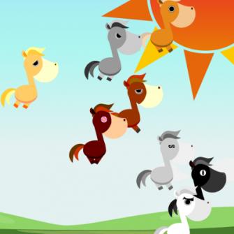 デジタルハーツ、ヤマダゲームにてパズルで馬を育てるソーシャルゲーム「ヤマダビ」を提供開始1