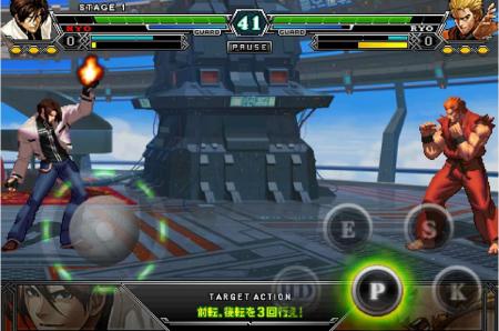 SNKプレイモア、KOFシリーズのスマートフォン向けタイトル「THE KING OF FIGHTERS-A 2012」のAndroid版をリリース1
