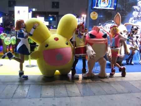 【TGS2013レポート】会場内で見かけた着ぐるみ&コンパニオンさん(その他いろいろ)写真集7